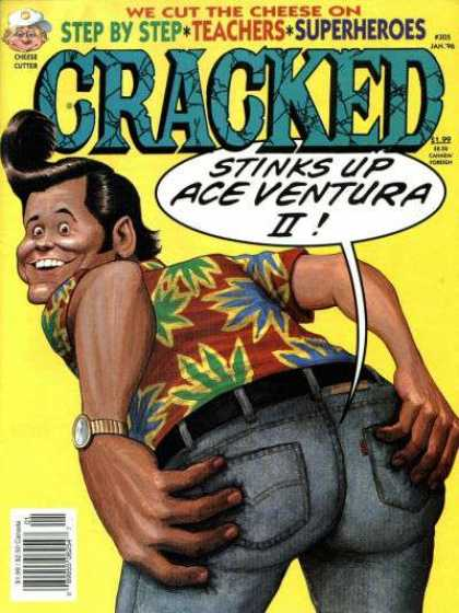 Cracked 305 - Ace Ventura Ii - Pet Detective - Hawaiian Shirt - Superheros