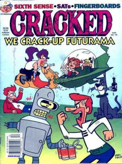 Cracked 340 - Astro - Robot - Fighting - Flying - Jetsons
