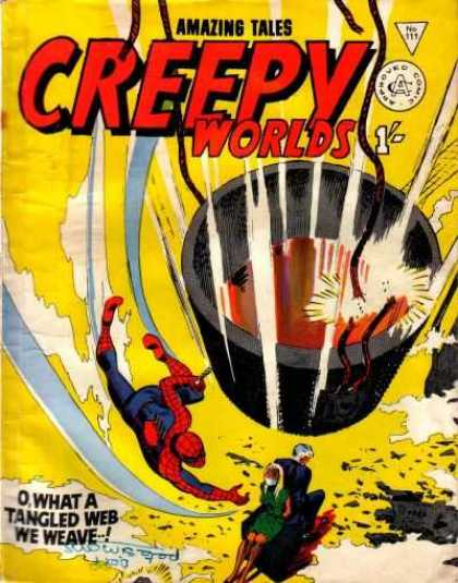 Creepy Worlds 111