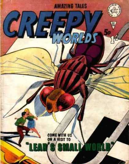 Creepy Worlds 118
