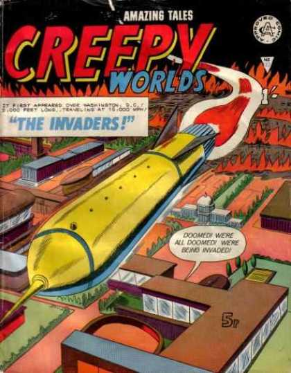 Creepy Worlds 122