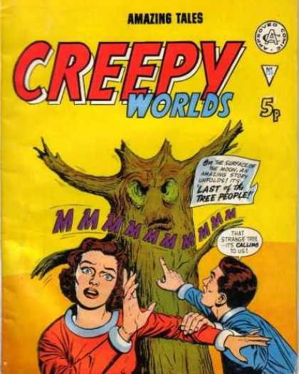 Creepy Worlds 126 - Terror From Nature - A Natural Phenomena - Evil In The Woods - Freaks Of Nature - Running From Nature