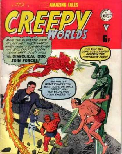 Creepy Worlds 130