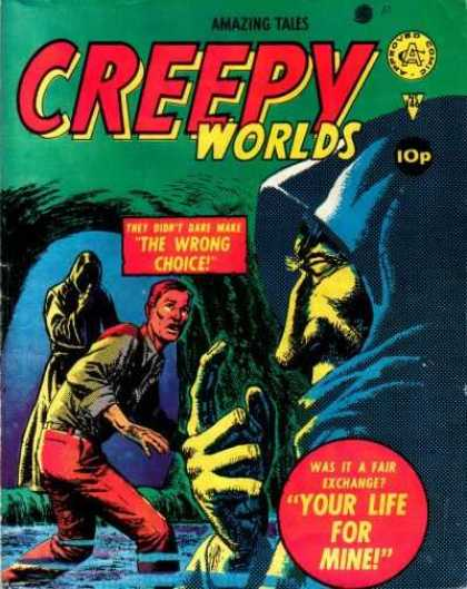 Creepy Worlds 146 - Water - Cave - Scared - Life Exchange - Out