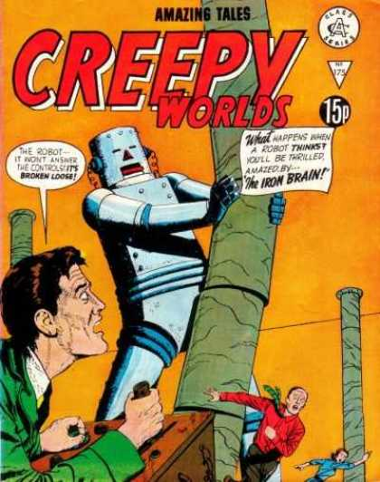 Creepy Worlds 175 - Weird Tales - Robot - Horror Stories - Ghost Stories - Mechanical