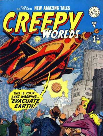 Creepy Worlds 30