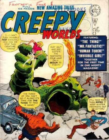 Creepy Worlds 32