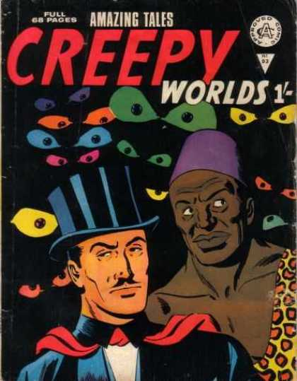 Creepy Worlds 93 - Approved Comic - Amazing Tales - 93 - 68 Pages