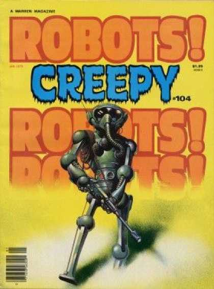 Creepy 104 - Robot