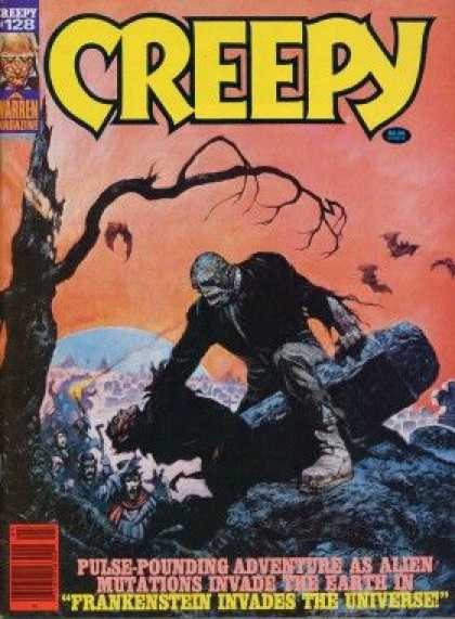 Creepy 128 - Frankenstein - Scary - Mystery - Haunted - Mutant