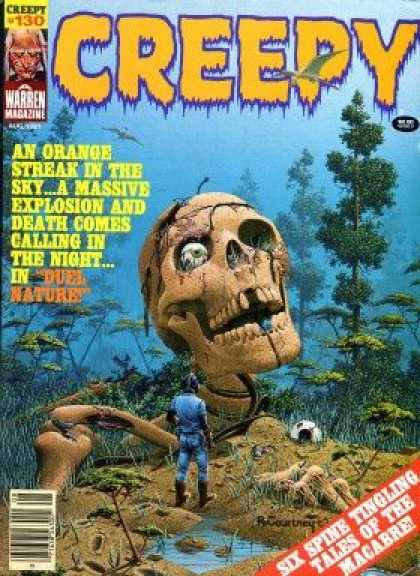 Creepy 130 - Skull - Creept - Man - Forest - Macabre