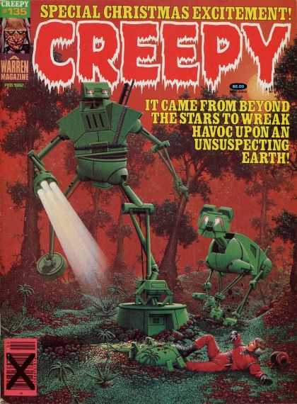 Creepy 135 - It Came From Beyond - The Stars To Wreak Havoc Upon An - Unsuspecting Earth - Warren - Creepy