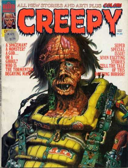 Creepy 64 - Spaceman - Monst - Tormented Decaying Man - Vest - Gory