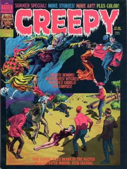 Creepy 74 - Demons - Witches - Ghouls - Corpses - Vampires