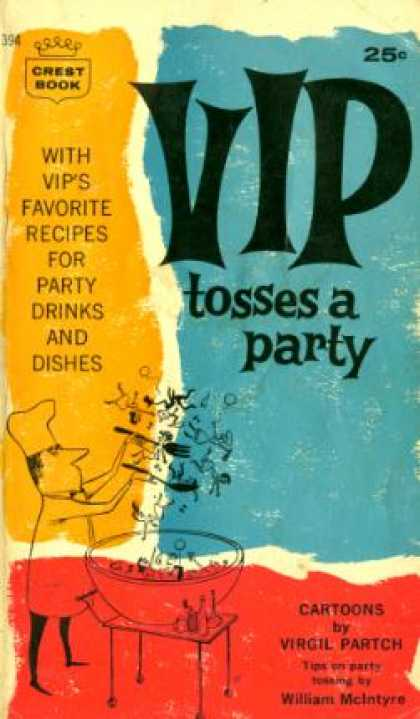 Crest Books - Vip Tosses a Party - Virgil Partch