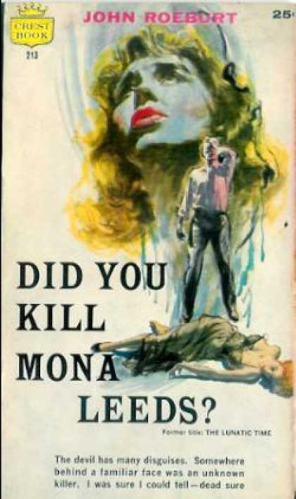 Crest Books - Did You Kill Mona Leeds?