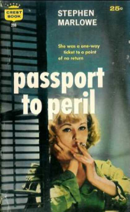 Crest Books - Passport To Peril - Stephen Marlowe