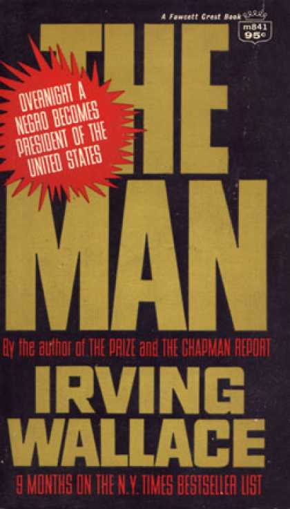 Crest Books - The Man - Irving Wallace