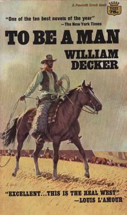 Crest Books - To Be a Man - William Decker