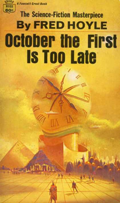 Crest Books - October the First Is Too Late - Fred Hoyle