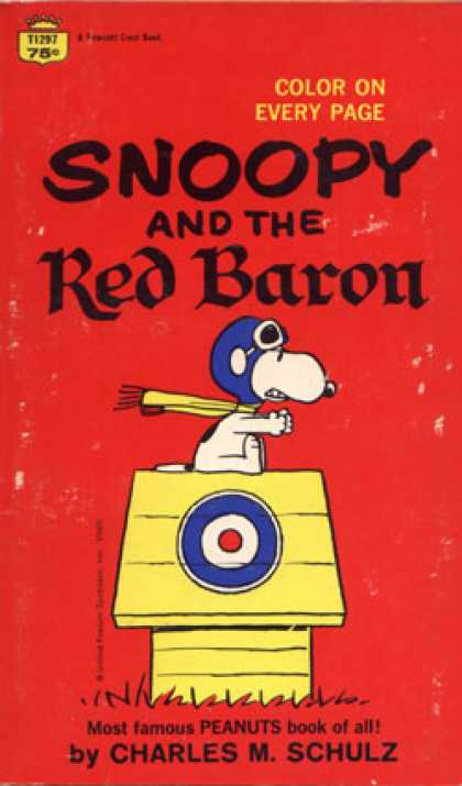 Crest Books - Snoopy and the Red Baron - Charles M. Schulz