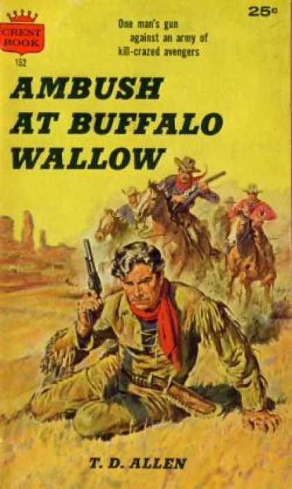 Crest Books - Ambush at Buffalo Wallow - T. D. Allen