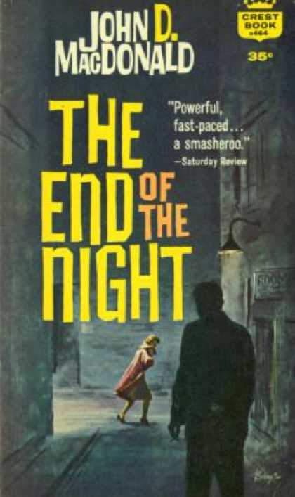 Crest Books - End of the Night - John D Macdonald