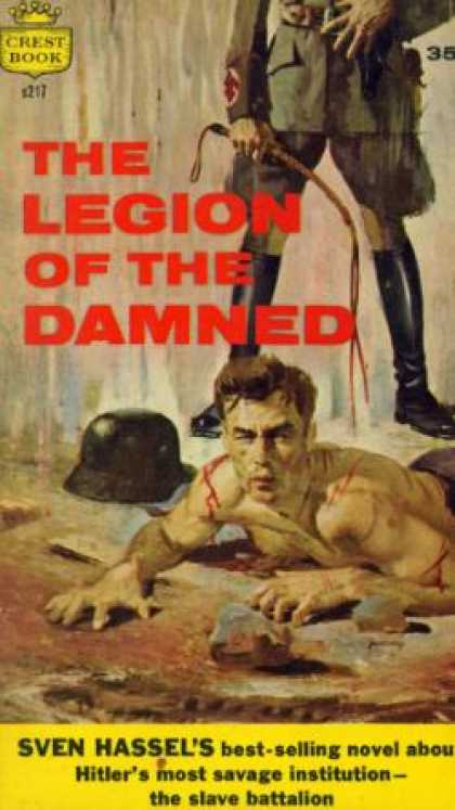 Crest Books - The Legion of the Damned - Hassel Sven