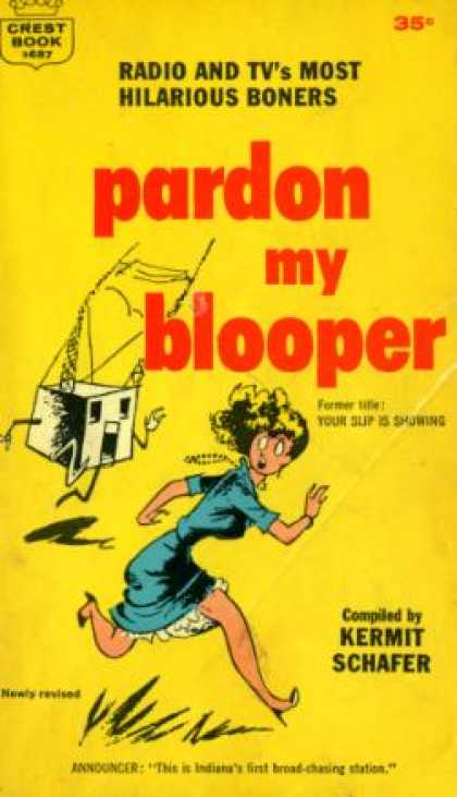 Crest Books - Pardon My Blooper - Kermit Schafer