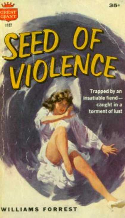 Crest Books - Seed of Violence - Williams Forrest