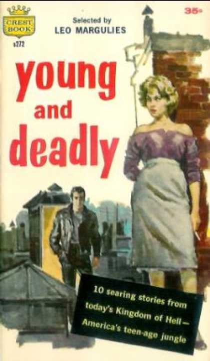 Crest Books - Young and Deadly - Margulies. Leo