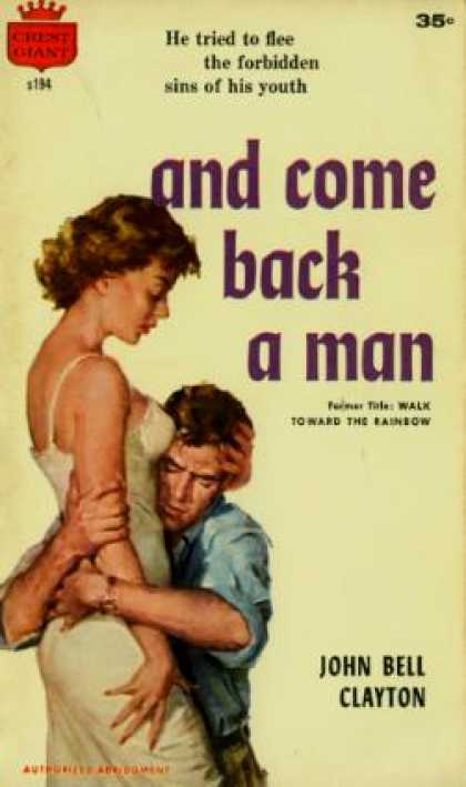 Crest Books - And Come Back a Man