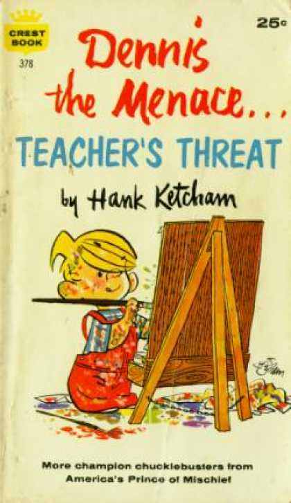 Crest Books - Dennis the Menace...teacher's Threat - Hank Ketcham