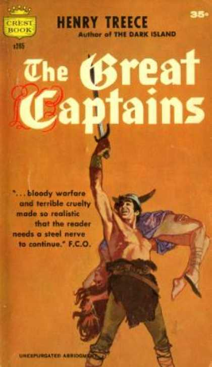 Crest Books - The Great Captains - Henry Treece