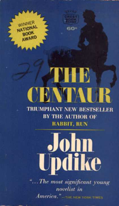 Crest Books - The Centaur - John Updike