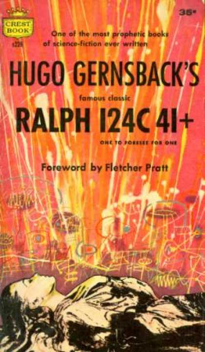 Crest Books - Ralph 124c 41+: One To Foresee for One - Hugo Gernsback