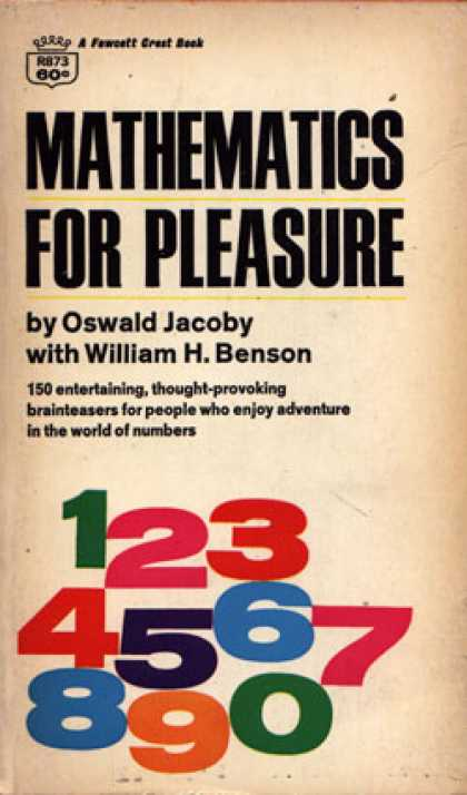 Crest Books - Mathematics for Pleasure - Oswald Jacoby