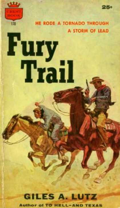 Crest Books - Fury Trail - Giles A. Lutz