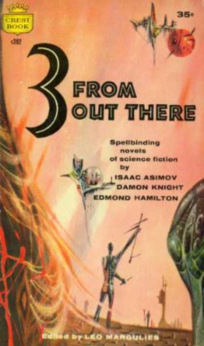 Crest Books - 3 From Out There - Leo Margulies