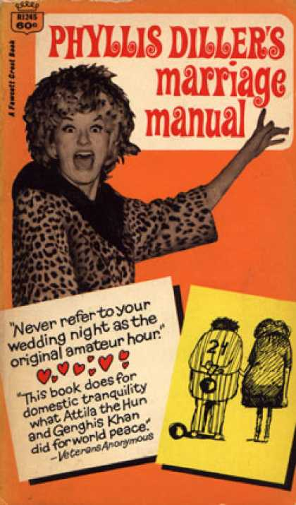 Crest Books - Phyllis Diller's Marriage Manual - Phyllis Diller