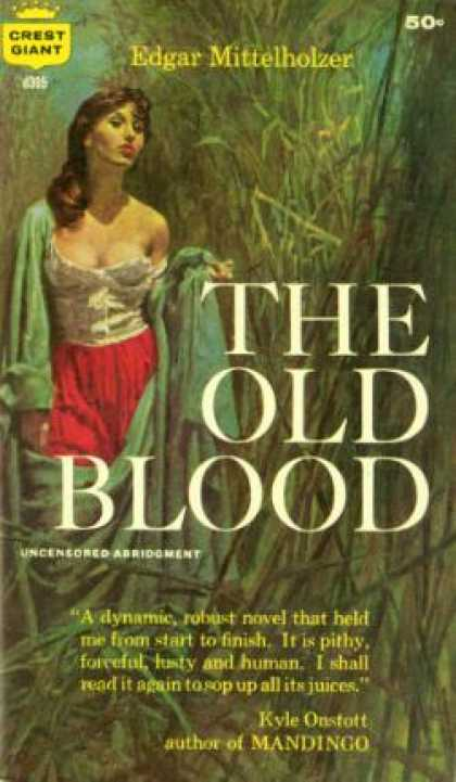 Crest Books - The Old Blood - Edgar Mittelholzer