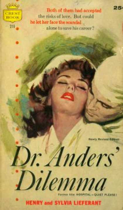 Crest Books - Dr. Anders' Dilemma - Henry; Lieferant, Sylvia Lieferant
