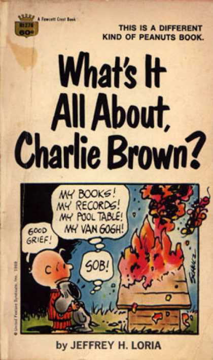 Crest Books - What's It All About, Charlie Brown? - Jeffry H. Loria