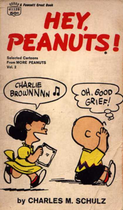 Crest Books - Hey Peanuts - Charles M Schulz