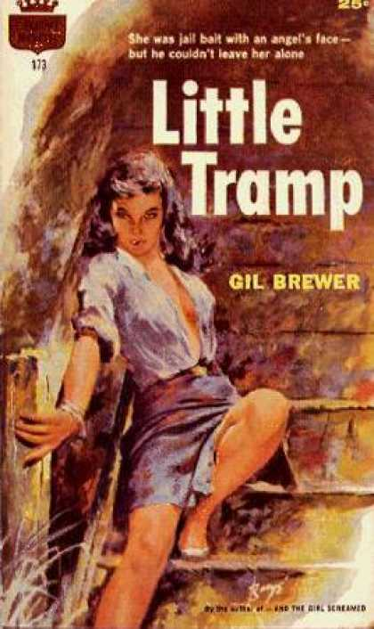Crest Books - Little Tramp - Gil Brewer