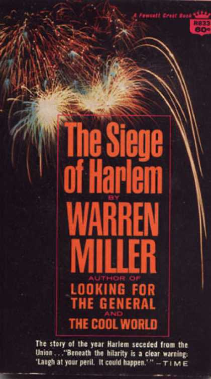 Crest Books - The Siege of Harlem - Warren Miller