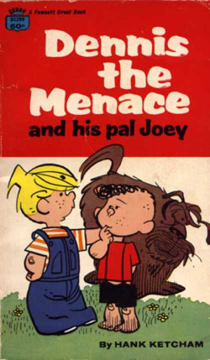 Crest Books - Dennis the Menace and His Pal Joey - Hank Ketcham