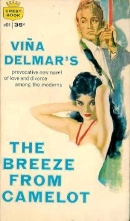 Crest Books - The Breeze From Camelot - Viã±a Delmar