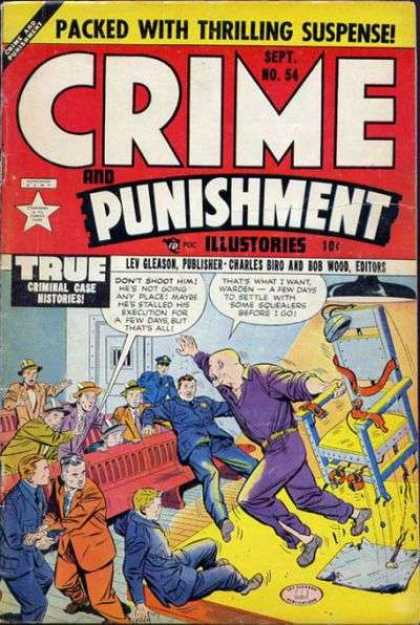 Crime and Punishment 54 - Man - Cat - Dog - People - Hat