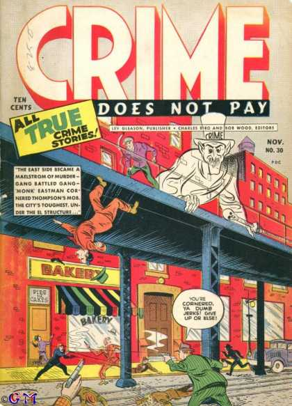 Crime Does Not Pay 30